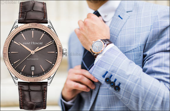Monceau Automatic in rose gold strikes a note of understated elegance and classic style