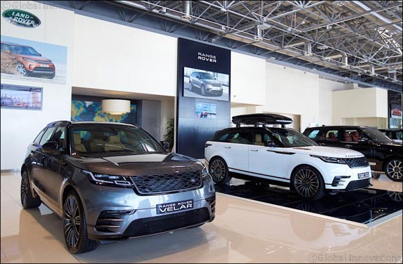 Range Rover Velar Arrives in the UAE