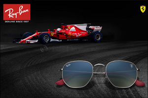 Ray-Ban Joins Scuderia Ferrari For a Collection Dedicated to the Exciting World of Formula One