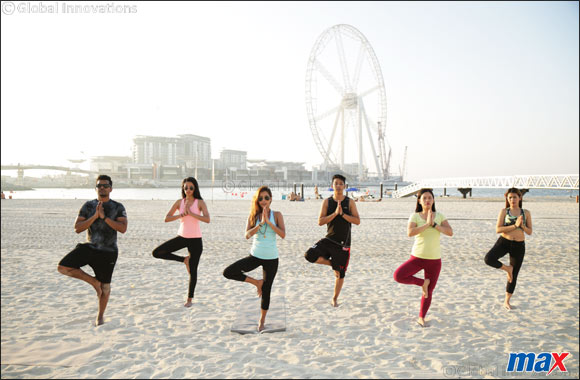 Accept Dubai Fitness Challenge with Max Fashion