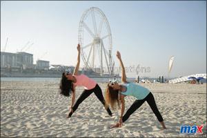 Accept Dubai Fitness Challenge with Max Fashion