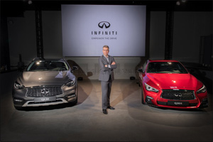 INFINITI unveils two new vehicles ahead of Dubai International Motor Show 2017