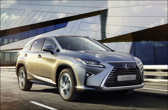 Lexus leads green luxury mobility with a hybrid-exclusive presence at the 2017 Dubai International Motor Show