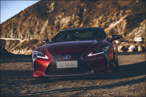 Lexus leads green luxury mobility with a hybrid-exclusive presence at the 2017 Dubai International M ...