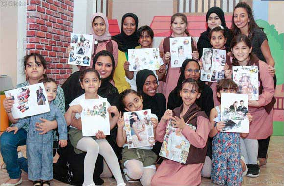 Unique Creative Workshops from Sajaya Young Ladies of Sharjah At Sharjah International Children's Film Festival