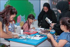 Unique Creative Workshops from Sajaya Young Ladies of Sharjah At Sharjah International Children's Fi ...