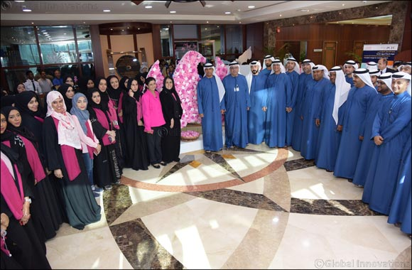 Dubai Customs organizes an assembly in support of breast cancer