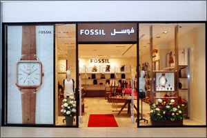 American Lifestyle Brand Fossil Launches Third Fossil Store in Saudi Arabia