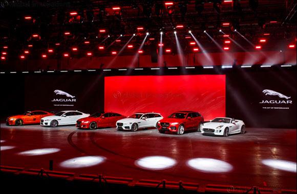 Jaguar's Stellar Dubai International Motor Show Line-up Will Be Its Biggest Yet at Region's Premier Automotive Showcase Event