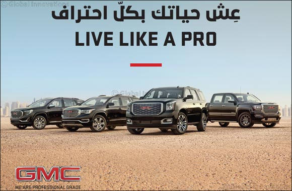 GMC opens new chapter in Middle East with 'Like A Pro' campaign