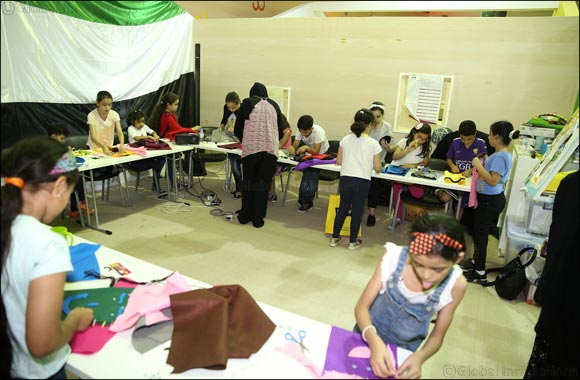 Sewing Tales for Young Authors and Illustrators At Sharjah International Book Fair