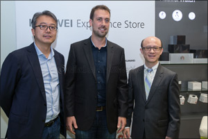 Huawei Consumer Business Group opens the Middle East's first ever �Huawei Experience Store' at The D ...
