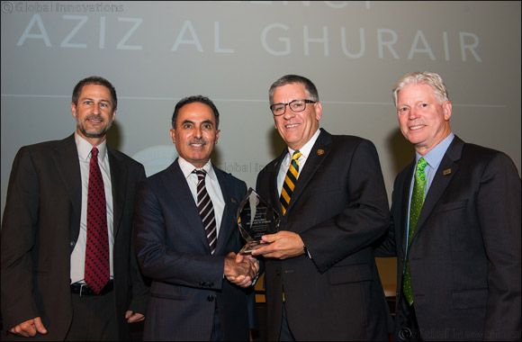 His Excellency Abdul Aziz Al Ghurair Receives Cal Poly Alumni Excellence Award