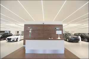 Jaguar Land Rover rolls out new �ARCH' corporate identity across MENA dealer network