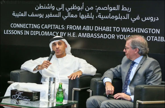 Emirates Diplomatic Academy hosts His Excellency Yousef Al-Otaiba, UAE Ambassador to the United States