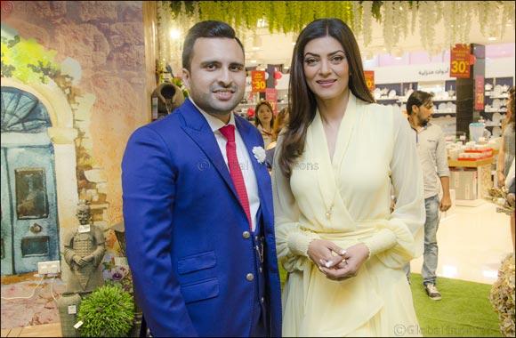 Sushmita Sen Re-launches the Danube Home Sharjah Showroom