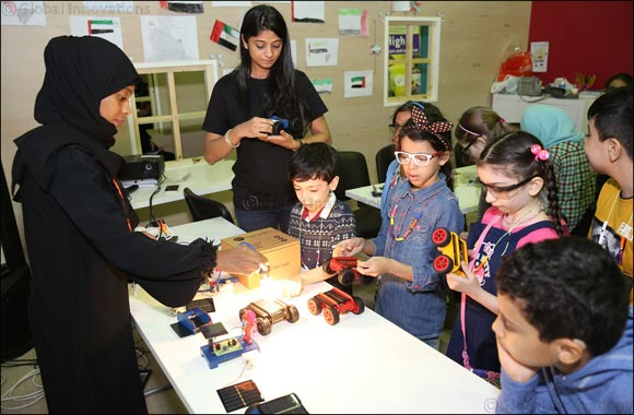 Kids Build Solar Powered Vehicles at SIBF 2017
