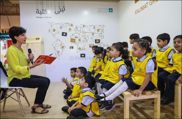 Fatima Sharafeddine Keeps Children Captivated At SIBF