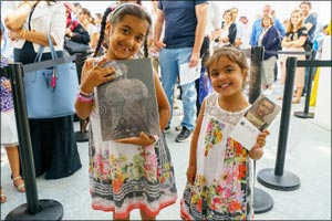 Louvre Abu Dhabi welcomes visitors on sold-out opening day
