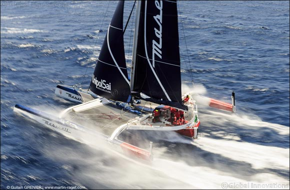 A new challenge for Maserati Multi70 and Giovanni Soldini