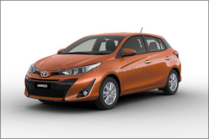 Trendier and sportier new Toyota Yaris Hatchback 2018 to be previewed at Dubai International Motor S ...