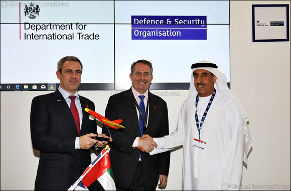 UK and UAE Launch Joint Venture at Dubai Airshow