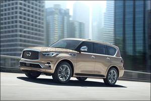 INFINITI unveils new QX80 at Dubai International Motor Show