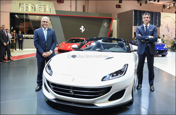 Ferrari and Al Tayer Motors launch Ferrari Portofino in the Middle East at Dubai International Motor Show
