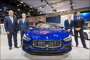 Maserati Middle East and Africa reveals new Ghibli at Dubai International Motor Show 2017