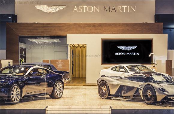 Aston Martin at the 2017 Dubai International Motor Show