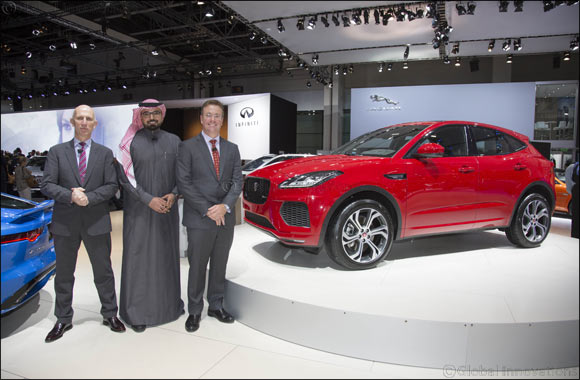 The New Jaguar E-Pace Makes Middle East Debut at Dubai International Motor Show