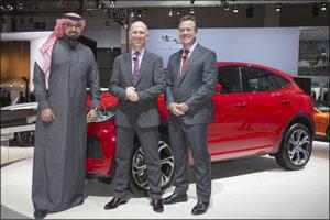 The New Jaguar E-Pace Makes Middle East Debut at Dubai International Motor Show