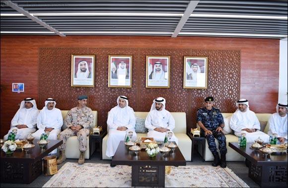 H.H. Sheikh Hamdan bin Zayed Al Nahyan Tours the Barakah Nuclear Energy Plant