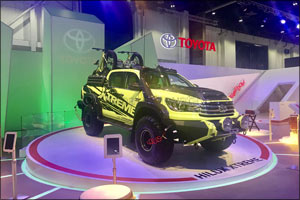 Toyota goes Xtreme with Land Cruiser, FJ Cruiser and Fortuner