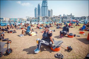 Dubai Fitness Challenge Closes to Resounding Success