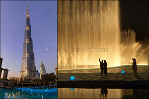 Walk on water and see The Dubai Fountain from closer than ever before