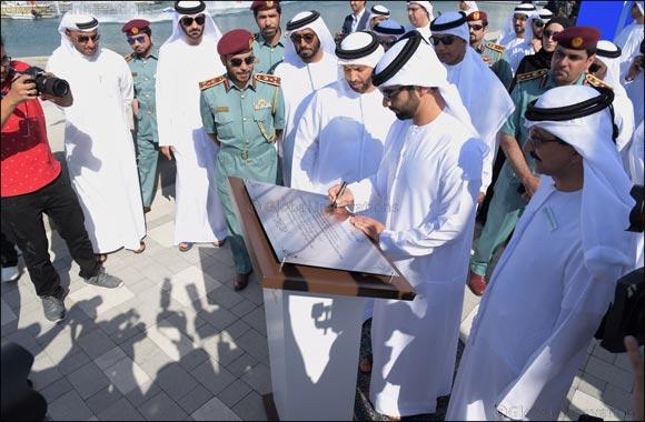Mansour bin Mohammed inaugurates Marinas at Mina Rashid