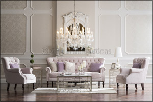 2XL captures the essence of vintage living with Prague Sofa set
