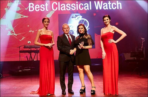 Monsieur Bovet Awarded at the Middle East Watch of the Year Awards 2017