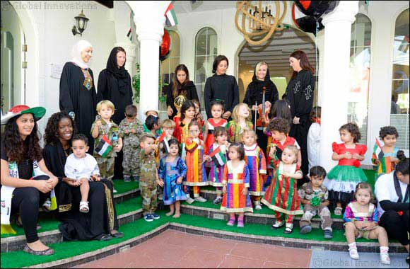 Kindergarten school customised showcases unique Arabic language program for its students ahead of National Day