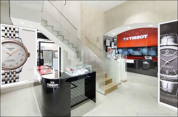 Tissot expands its boundaries with the opening of a new Boutique in Rome