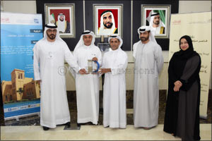Awqaf and Minors Affairs Foundation Hands over AED400,000 to Mohammed Bin Rashid Housing Establishme ...