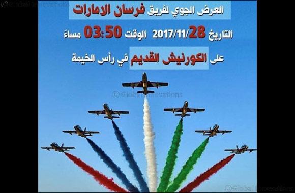 Al Fursan aerobatics team to put on a show above the Old Corniche in Ras Al Khaimah
