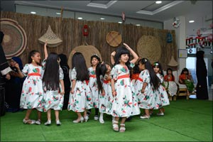 Awqaf and Minors Affairs Foundation, Family Village Celebrate 46th UAE National Day