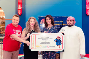 More Than 6,000 Bears Donated to Toys With Wings & Emirates Red Crescent for Novo Cinemas' �Share a  ...