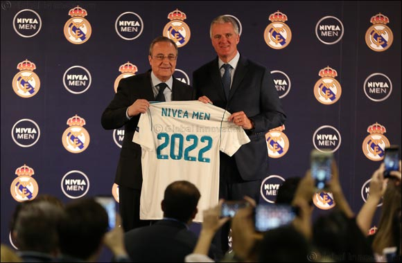 NIVEA MEN and Real Madrid Extend Partnership Globally Covering 70+ Countries