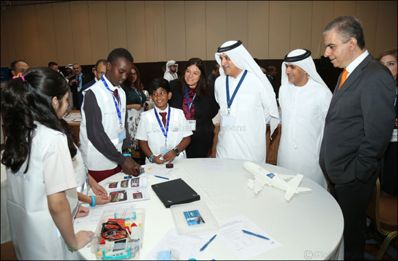 Airbus Little Engineer A380 Workshop Fuels a Passion for Innovation in Students at the Arab Aviation Summit