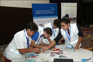 Airbus Little Engineer A380 Workshop Fuels a Passion for Innovation in Students at the Arab Aviation ...