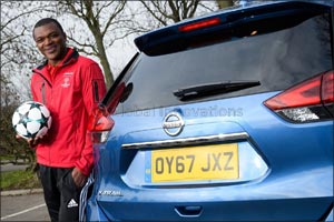 Nissan teams up with Desailly and Basler to set fans ultimate Challenge