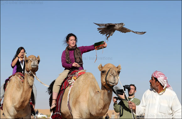 Initiatives of the 4th International Festival of Falconry in Khalifa Park Inaugurated Today